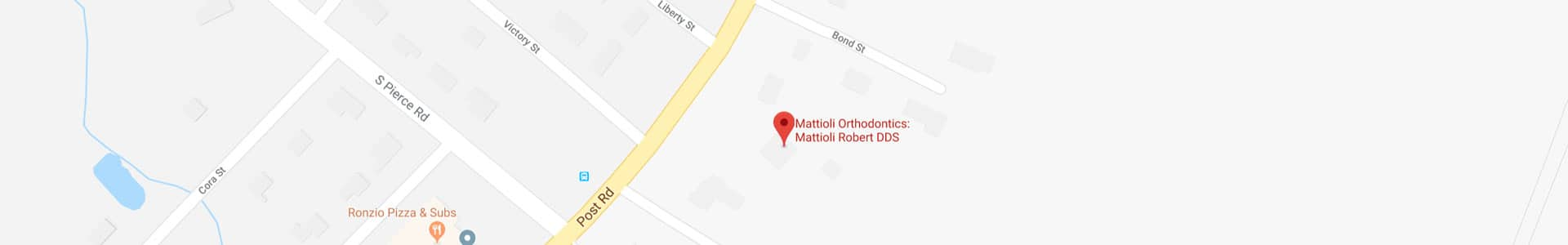 Footer Map Mattioli Orthodontics East Greenwich RI